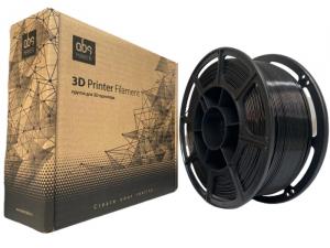 Pet-g цвет черный 1.75мм 1 кг АБС Мейкер