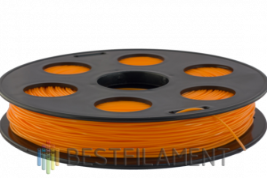 Оранжевый ABS пластик Bestfilament для 3D-принтеров 0,5 кг 1.75 мм, Пластик для 3D принтера