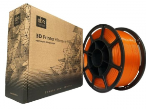 Pet-g цвет оранжевый 1.75мм 1 кг АБС Мейкер