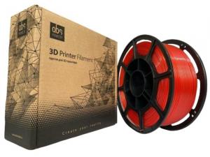 Pet-g цвет красный 1.75мм 1 кг АБС Мейкер
