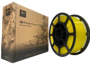 Pet-g цвет желтый 1.75мм 1 кг АБС Мейкер