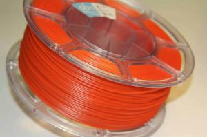 Pet-g цвет оранжевый флуоресцентный 1.75мм 1 кг АБС Мейкер