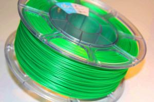 Pet-g цвет зеленый флуоресцентный 1.75мм 1 кг АБС Мейкер