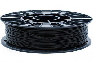 PLA пластик REC, 1.75 мм, черный, 750 гр.