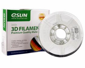 PETG пластик ESUN, 1.75 мм, белый, 1 кг