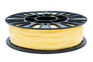PLA пластик REC, 1.75 мм, желтый, 750 гр.