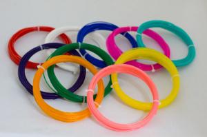 Набор PLA пластика Bestfilament для 3D ручек 10 цветов