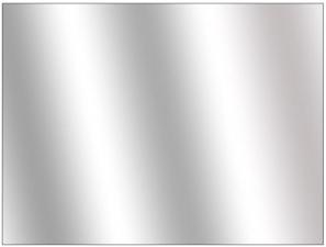 Зеркало на стол 3d принтера 250х400х3мм