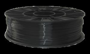 PETG черный Стримпласт 1,75 мм 1 кг.