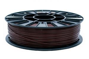 PLA пластик REC, 1.75 мм, коричневый, 750 гр.