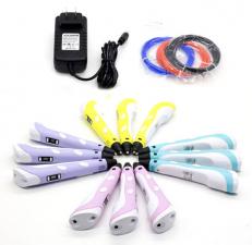 Ручка 3D Cactus CS-3D-PEN-A-PL PLA ABS LCD фиолетовая