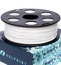 Белый PLA пластик VolPrint для 3D-принтеров - 1.75 мм 1 кг