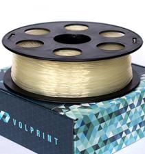 Натуральный PETG пластик VolPrint для 3D-принтеров - 1.75 мм 1 кг