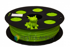 Лайм PETG пластик Bestfilament для 3D-принтеров 1 кг (1,75 мм)