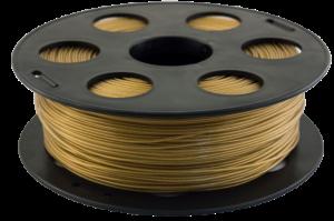 Золотистый металлик PETG пластик Bestfilament для 3D-принтеров 1 кг (1,75 мм)