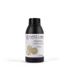Фотополимер HARZ Labs Dental Sand Form2 A1-A2 0,5 кг