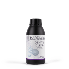 Фотополимер HARZ Labs Dental Clear Form2 0,5 кг